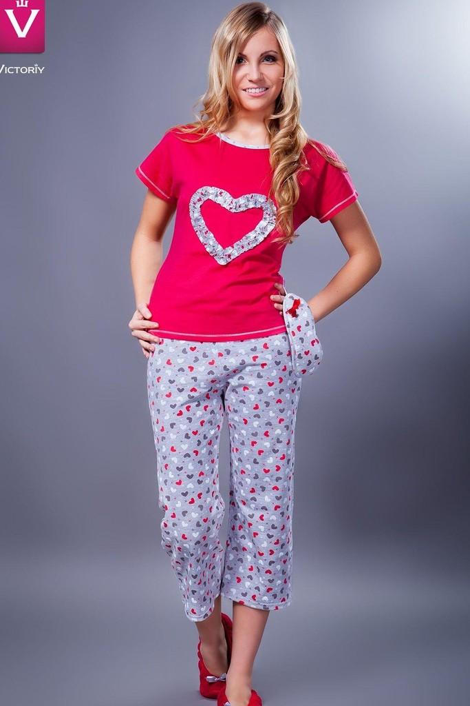 Bavlněné dámské pyžamo Nicol