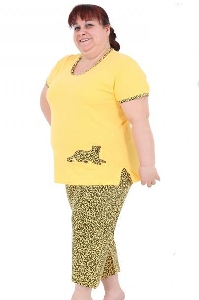 Bavlněné pyžamo Panter