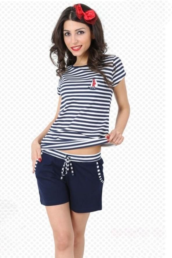 Dámský komplet Sailor style