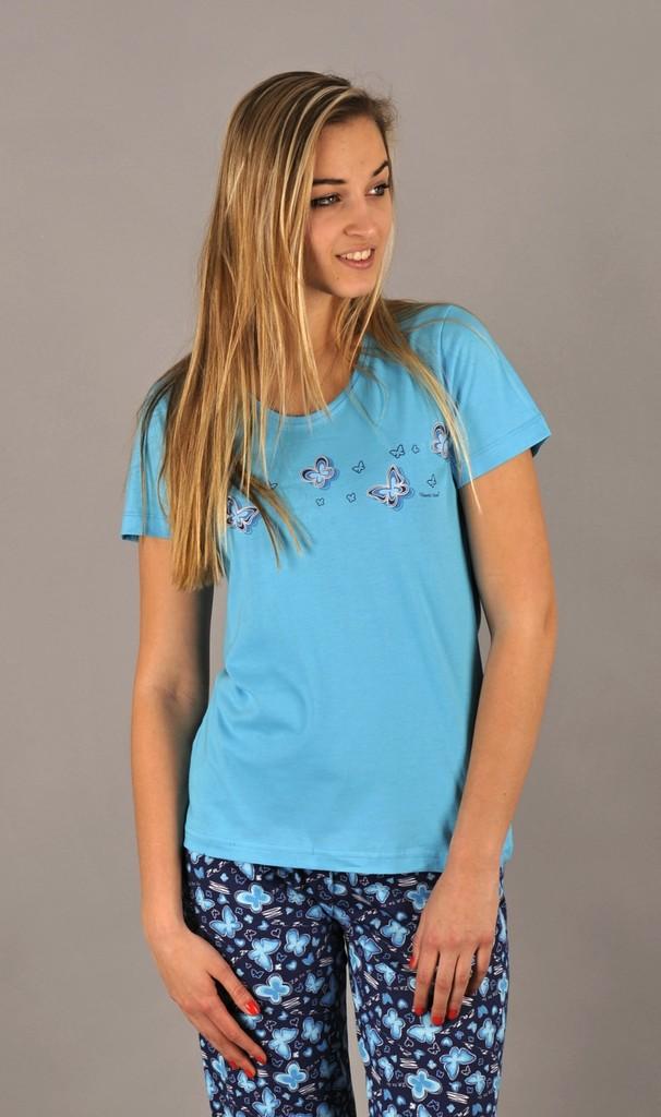 Bavlněné dívčí pyžamo Lara