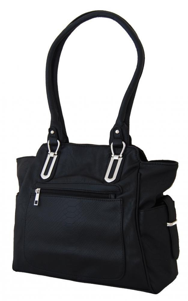 Kroko kabelka na rameno BH152 černá