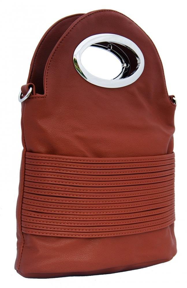 Malá kabelka do ruky / crossbody 310 hnědá