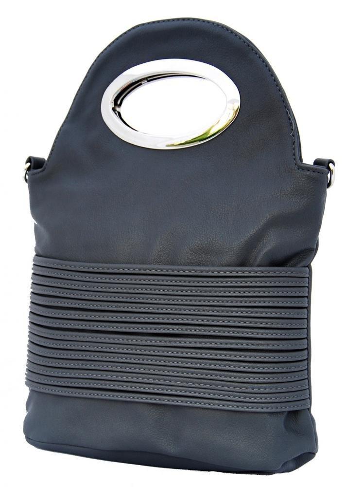 Malá kabelka do ruky / crossbody 310 šedá