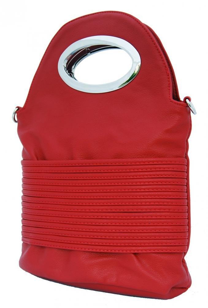 Malá kabelka do ruky / crossbody 310 červená