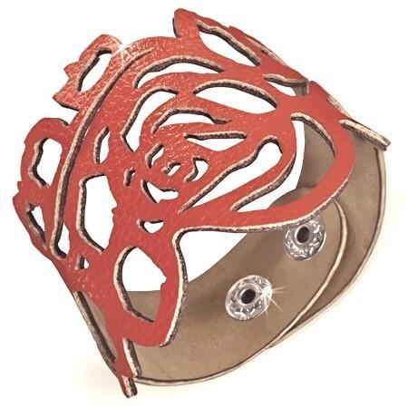 Dámský kožený náramek th-bhy527