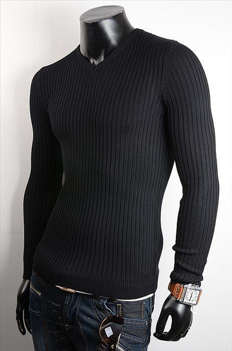 Elegantní pánský svetr p-sv09bl
