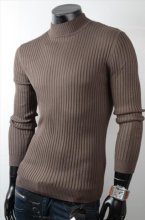 Pánské jednobarevné pulovry p-sv08hn