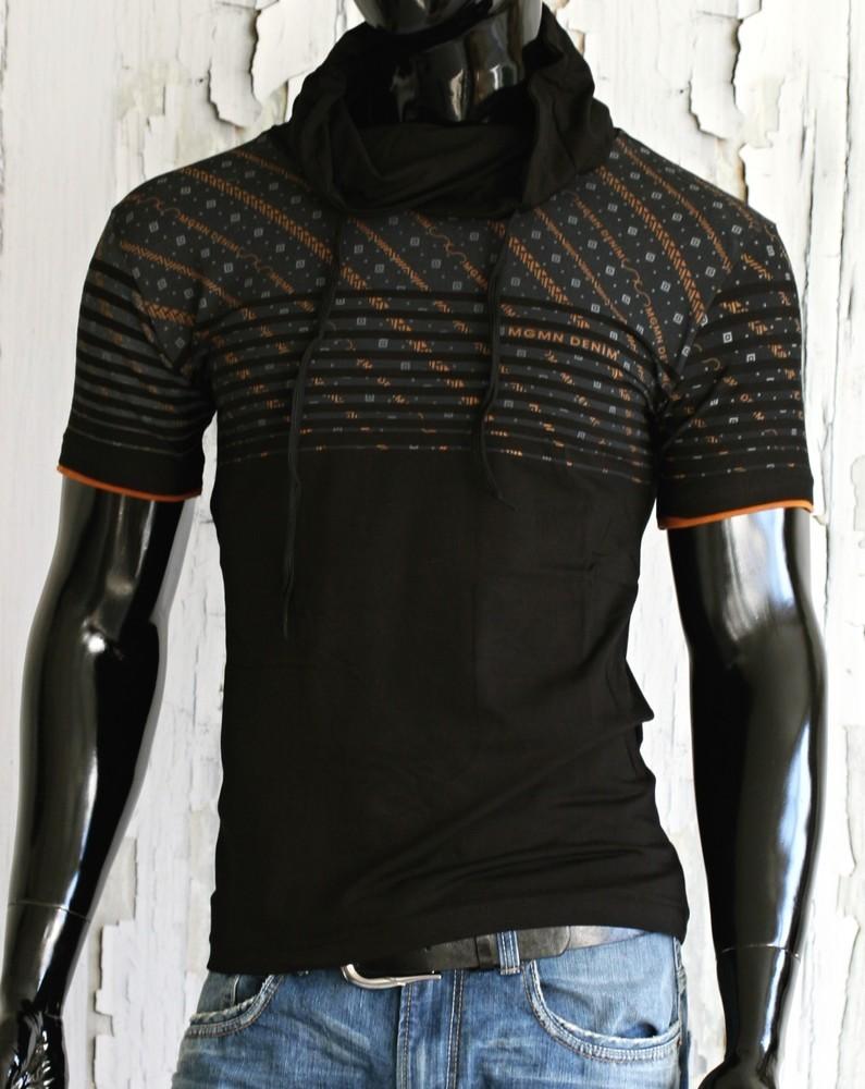 Stylové tričko s krátkým rukávem p-tr20bl