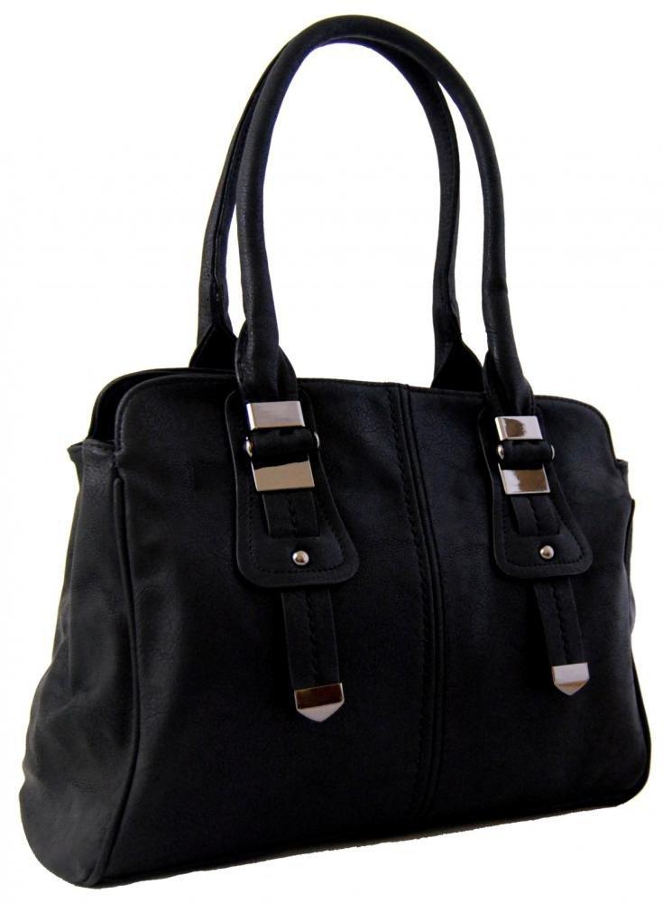 Dámská kabelka na rameno 804 černá