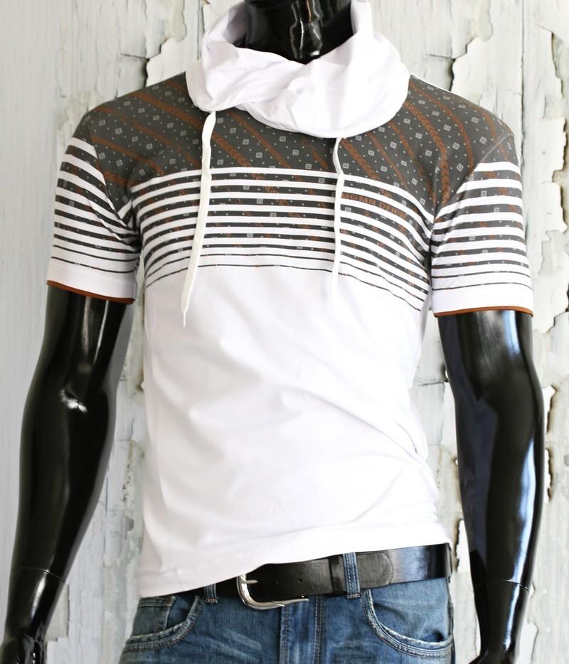 Pánské triko s krátkými rukávy p-tr20wh