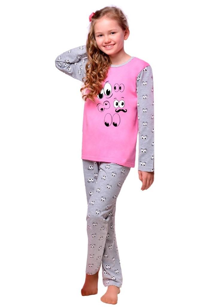 Dětské pyžamo s obrázkem očí