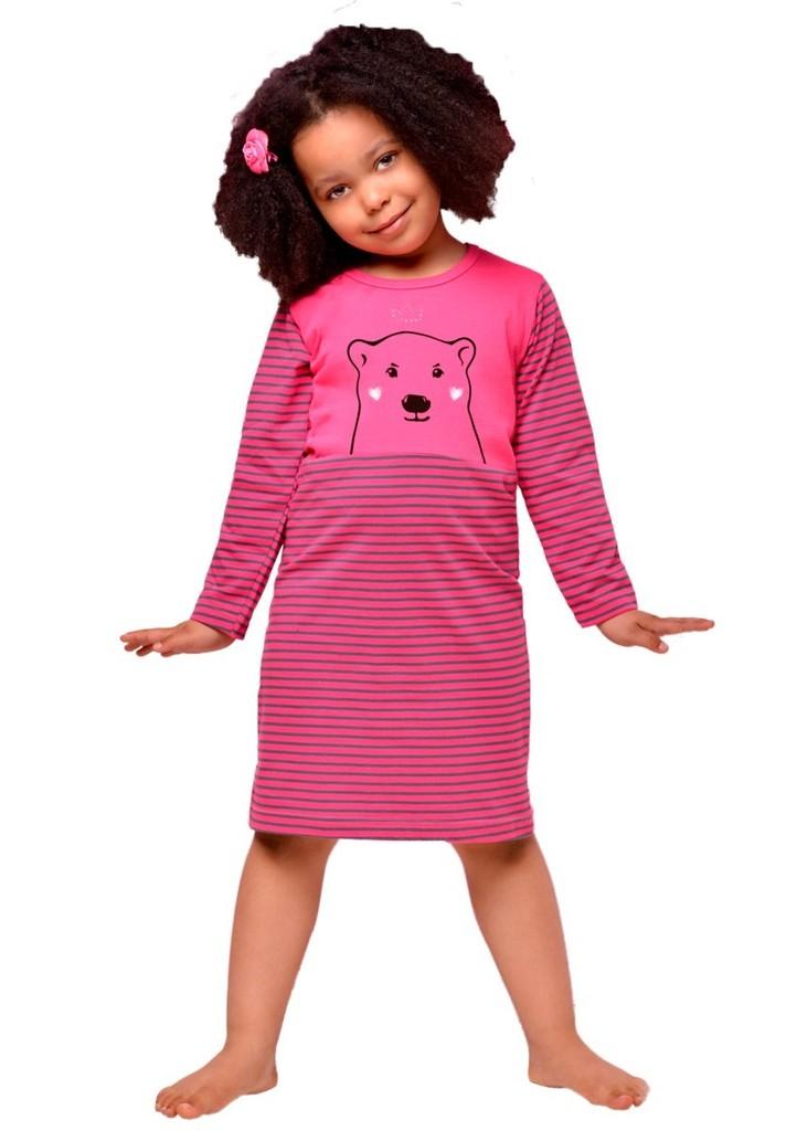 Dětská noční košile s obrázkem medvěda