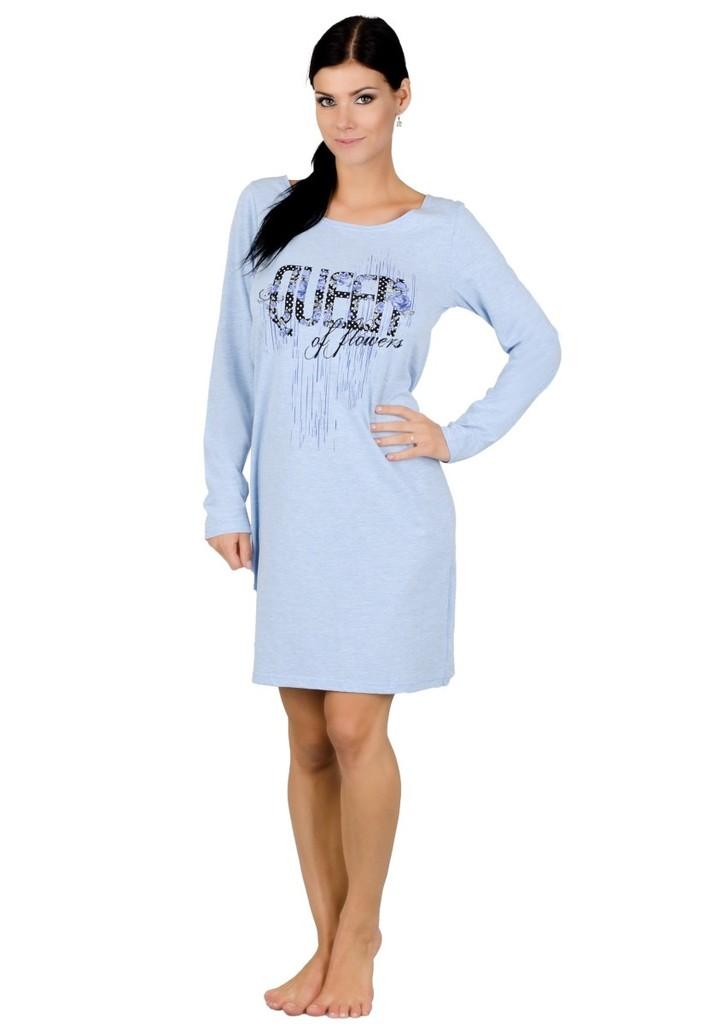 Dámská noční košile s nápisem Queen