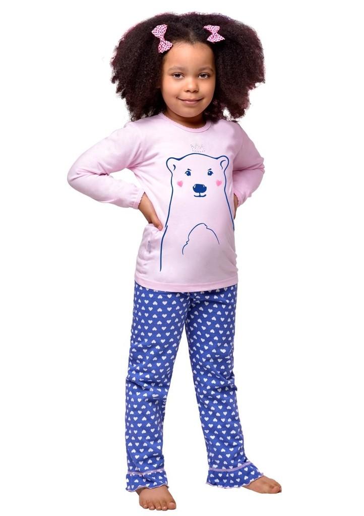 Dětské pyžamo s obrázkem velkého medvěda
