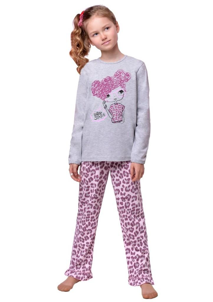 Dětské pyžamo se vzorem geparda