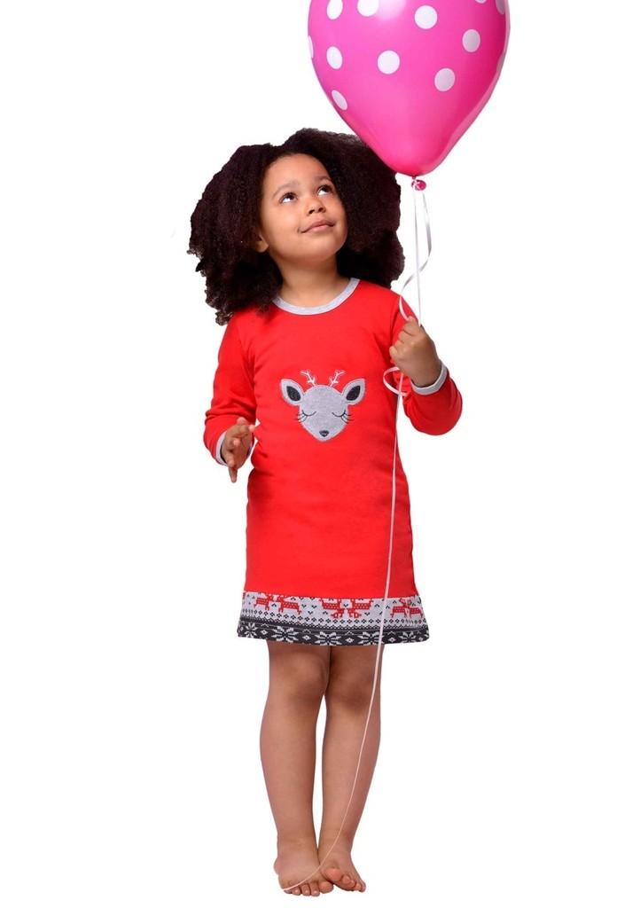 Dětská noční košile s obrázkem soba