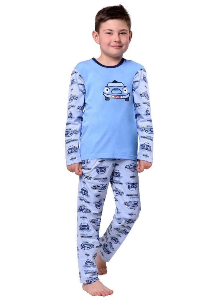 Dětské pyžamo s obrázkem auta
