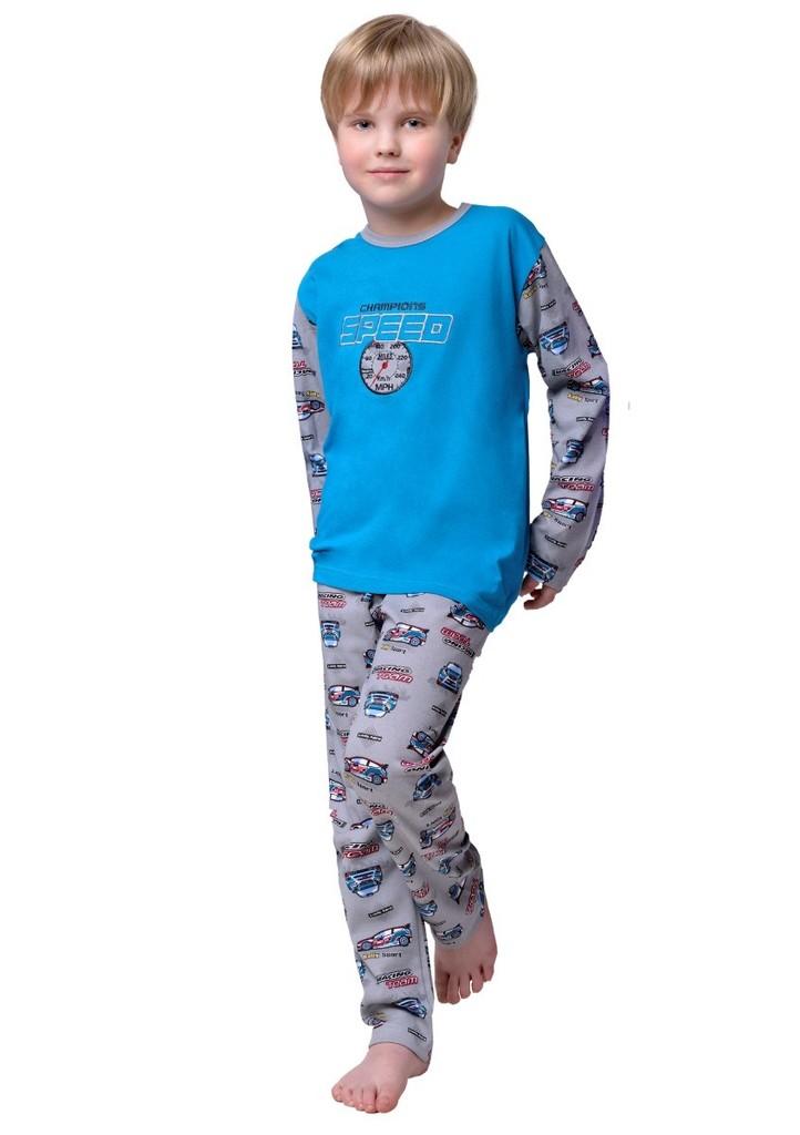 Dětské pyžamo s nápisem Speed