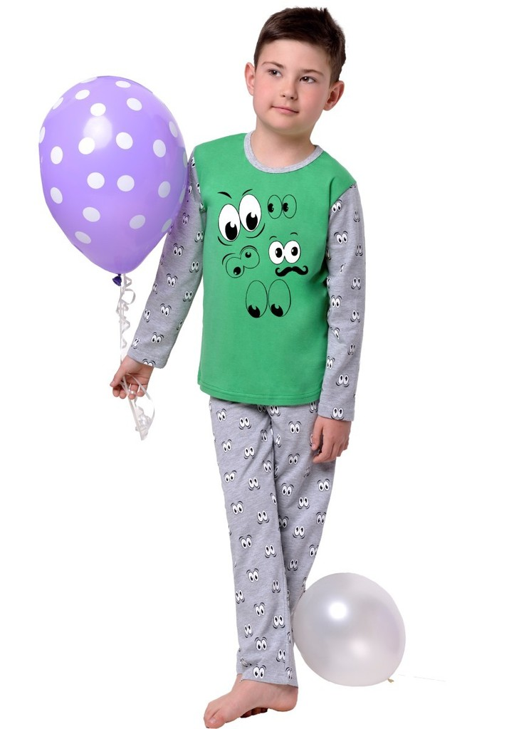 Dětské pyžamo s obrázkem očí I.