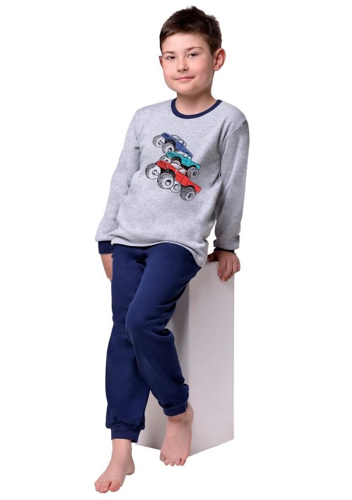 Dětské pyžamo s obrázkem trucku