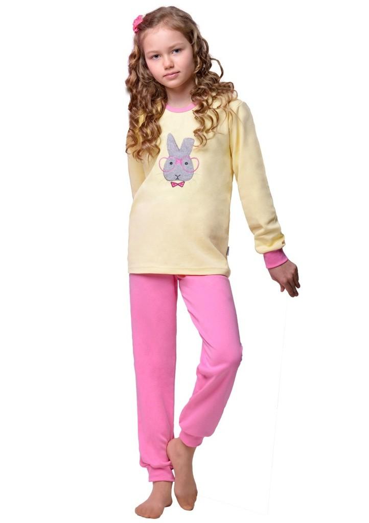 Dětské pyžamo s obrázkem králíka