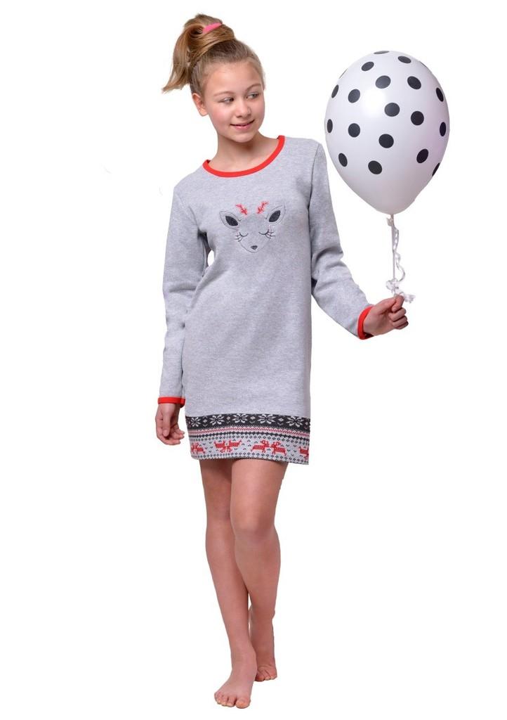 Dívčí noční košile s obrázkem soba