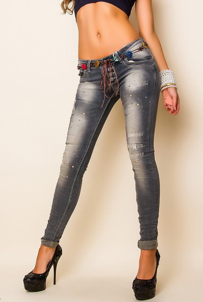 Dámské skinny jeans y-ri01
