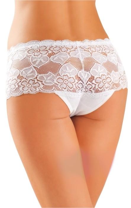 Bavlněné kalhotky brazilky 99 bílé