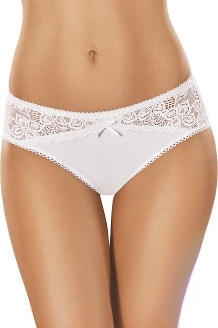 Bavlněné kalhotky brazilky 111 bílé