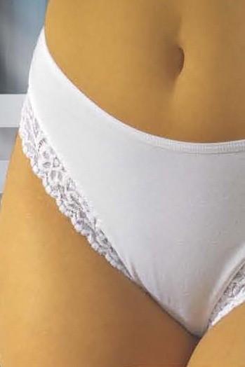 Bavlněné kalhotky 41 bílé