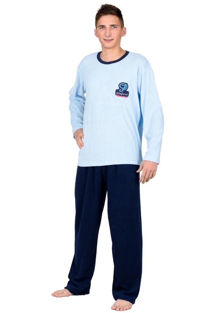 Pánské frote pyžamo s nápisem Project