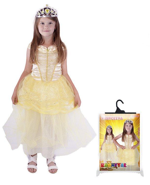 Kostým princezna Žlutěnka vel. S