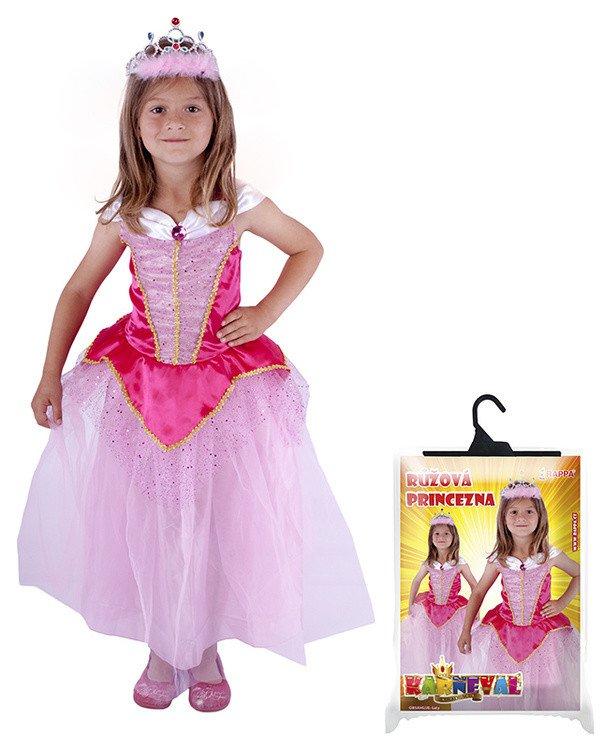Kostým princezna růžová vel. L