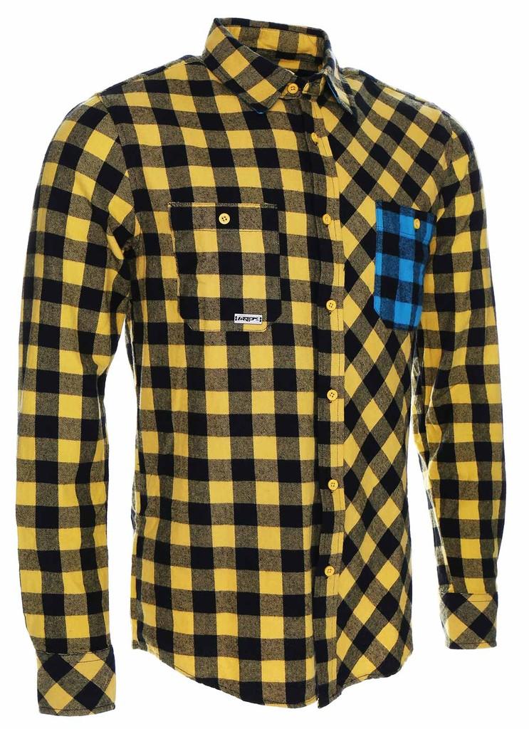 Pánská košile  Flannel Rider Yellow