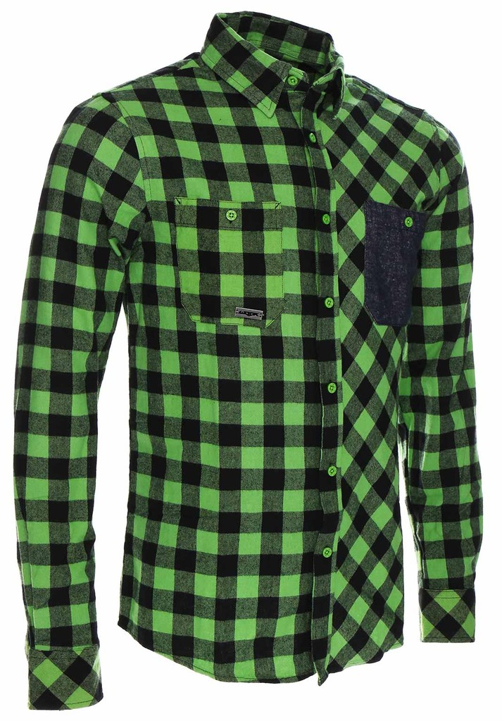 Pánská košile Flannel Rider Green