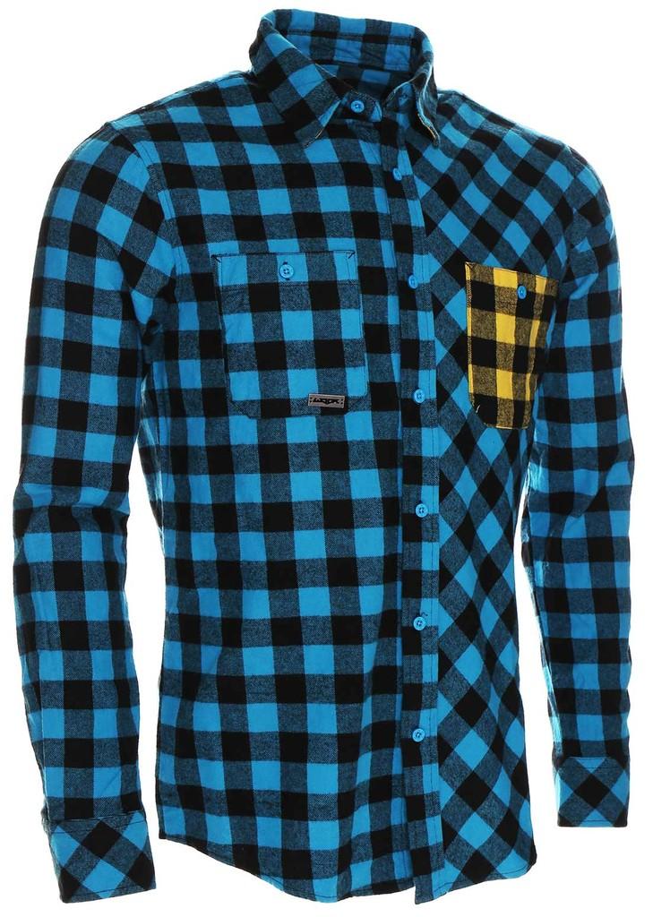 Pánská košile Flannel Rider Blue
