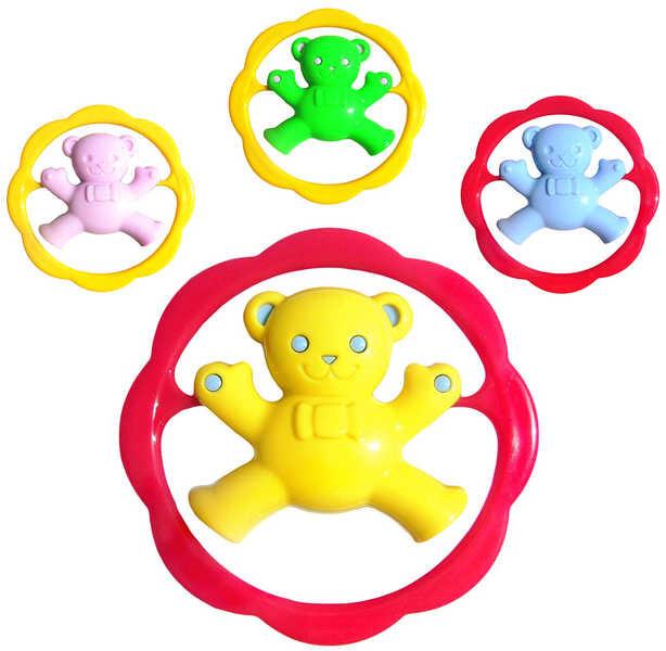 EVK Chrastítko Méďa v kruhu pro miminko