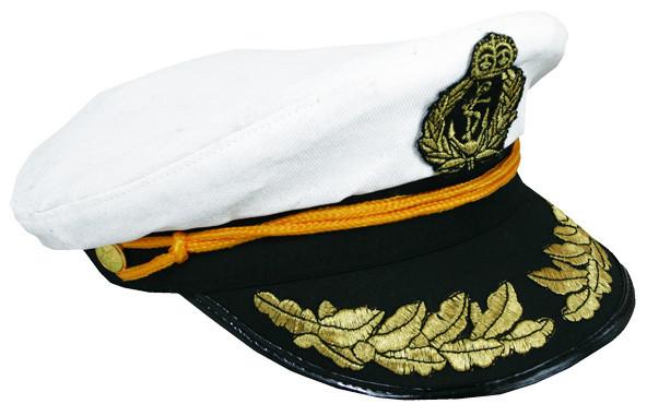Čepice kapitán námořník dospělý