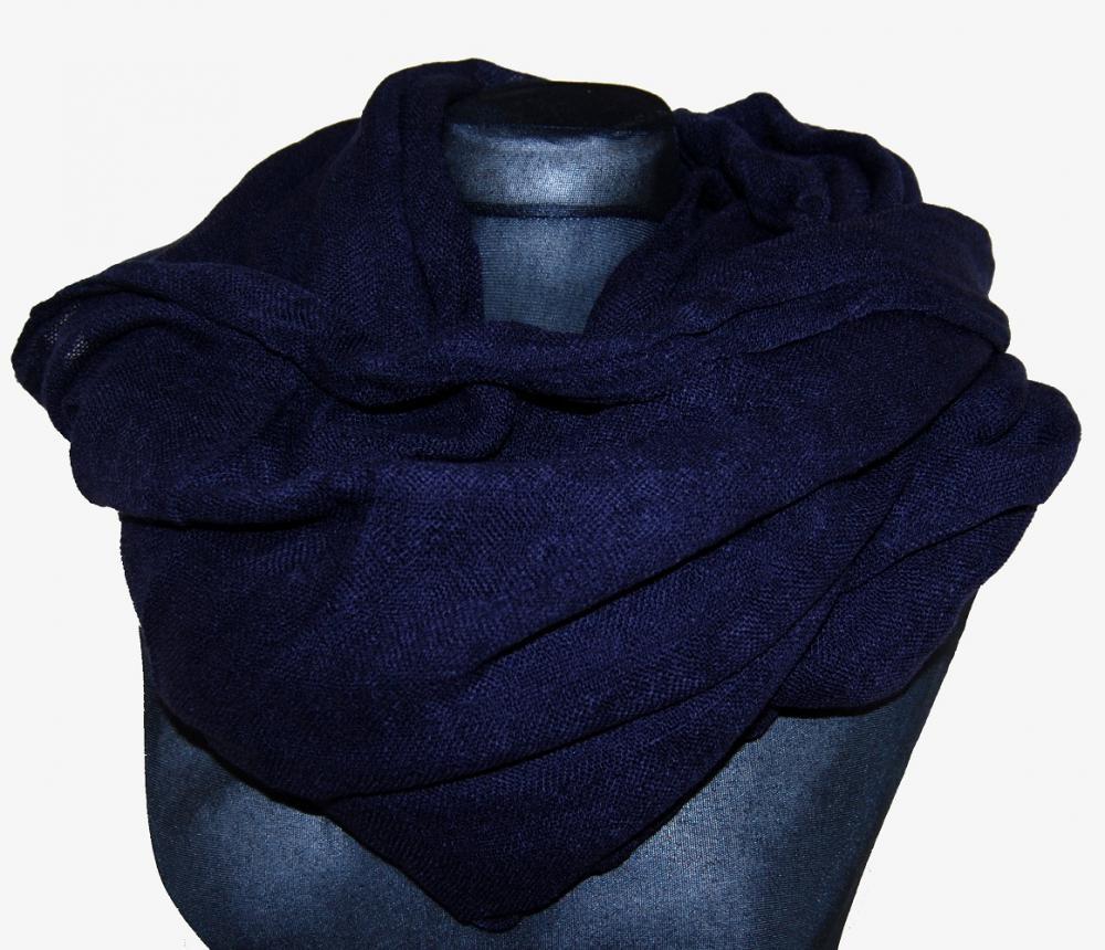 Velký nákrčník / šála B812 tmavě modrý Unisex