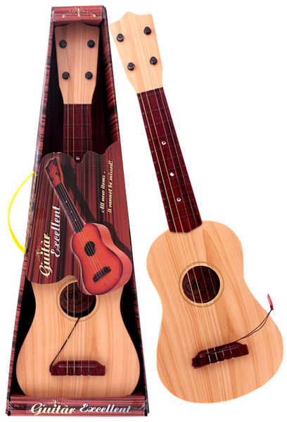 Kytara dětská 55 cm + Trsátko PLAST 2 druhy