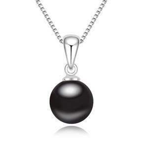 Řetízek s perlovým přívěskem sw-281bl