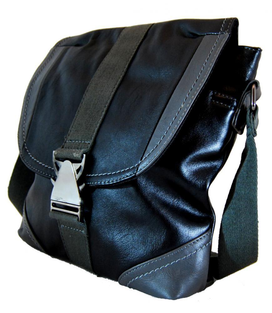 Pánská crossbody taška 7135-2 černá
