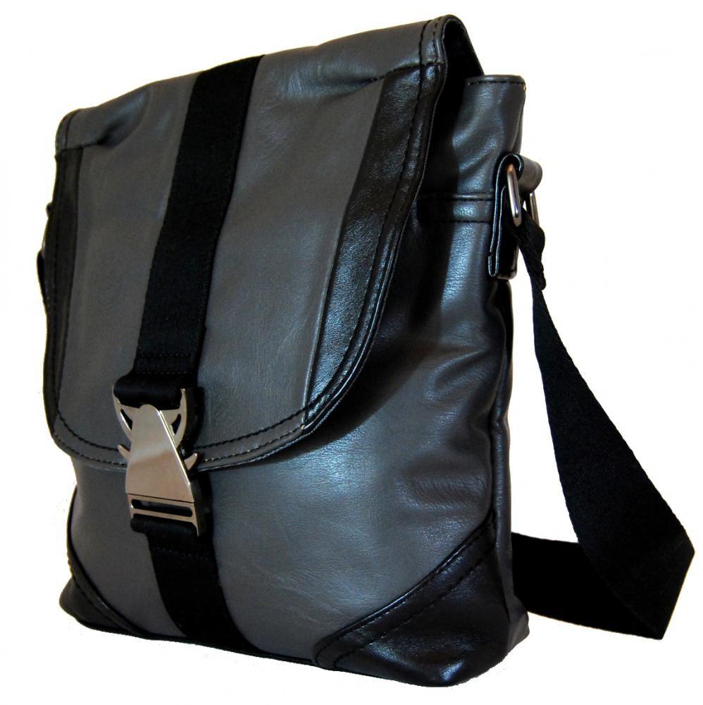 Pánská crossbody taška 7135-2 šedá