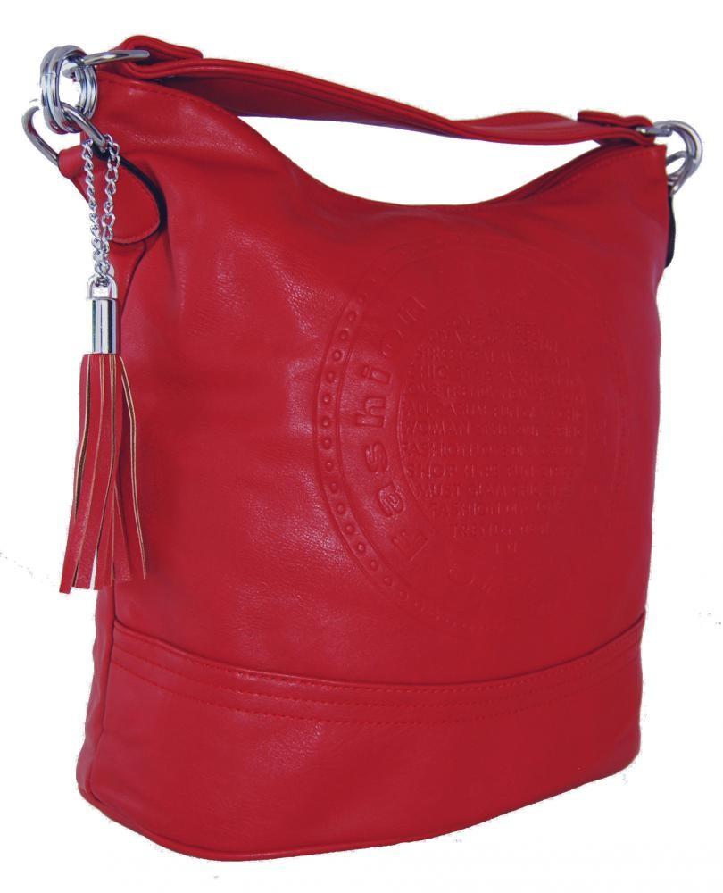 Módní crossbody kabelka AE-0843 červená
