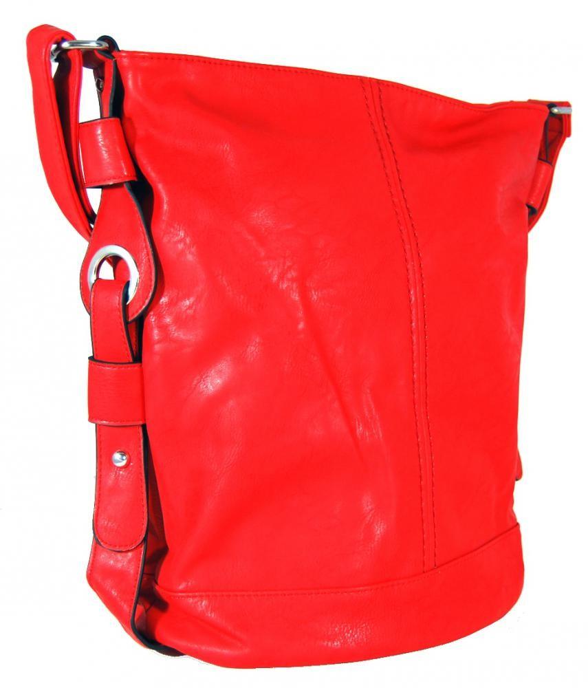 Dámská crossbody kabelka D1012 červená