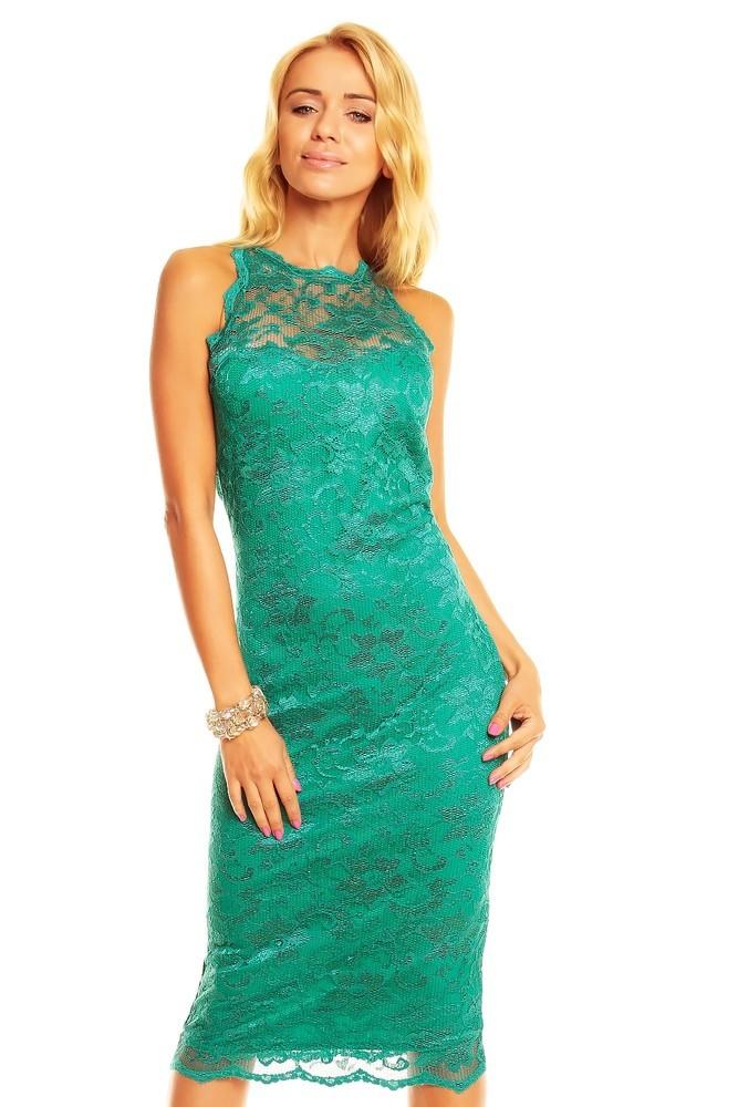 Krajkové večerní šaty hs-sa236ze