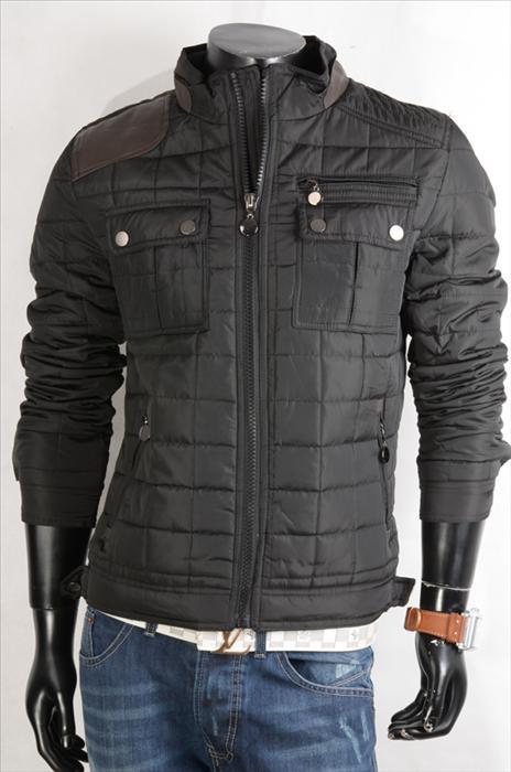 Pánská zimní bunda p-bu09bl
