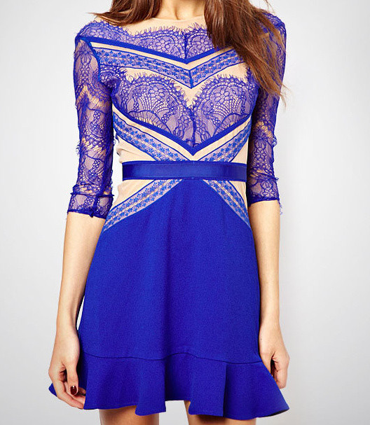 Elagantní dámské šaty d-sat373mo