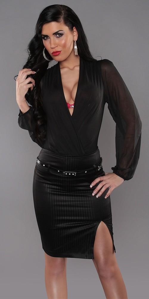Sukně dámská černá in-su15bl