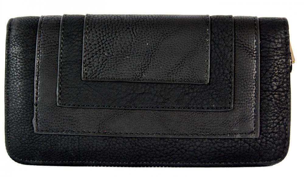 Praktická dámská zipová peněženka FD-020 černá